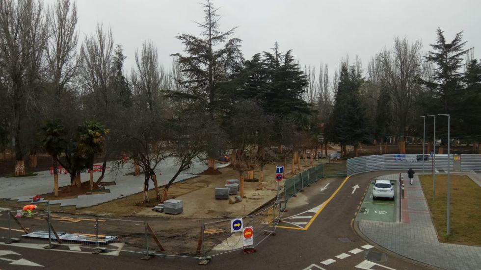 El proyecto de remodelación se está llevando a cabo financiado por los Fondos Europeos de Desarrollo Regional y la colaboración de la Junta de Castilla y León