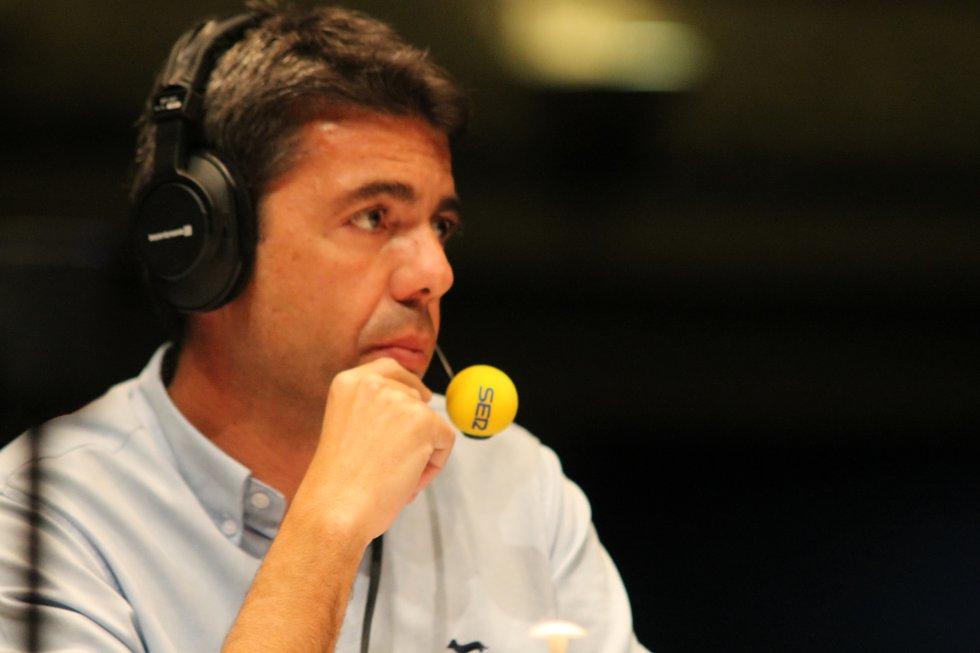 Carlos Mazón, presidente de la Diputación Provincial de Alicante
