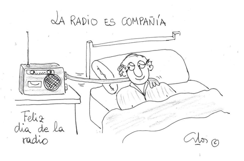La viñeta de Villanueva, la radio