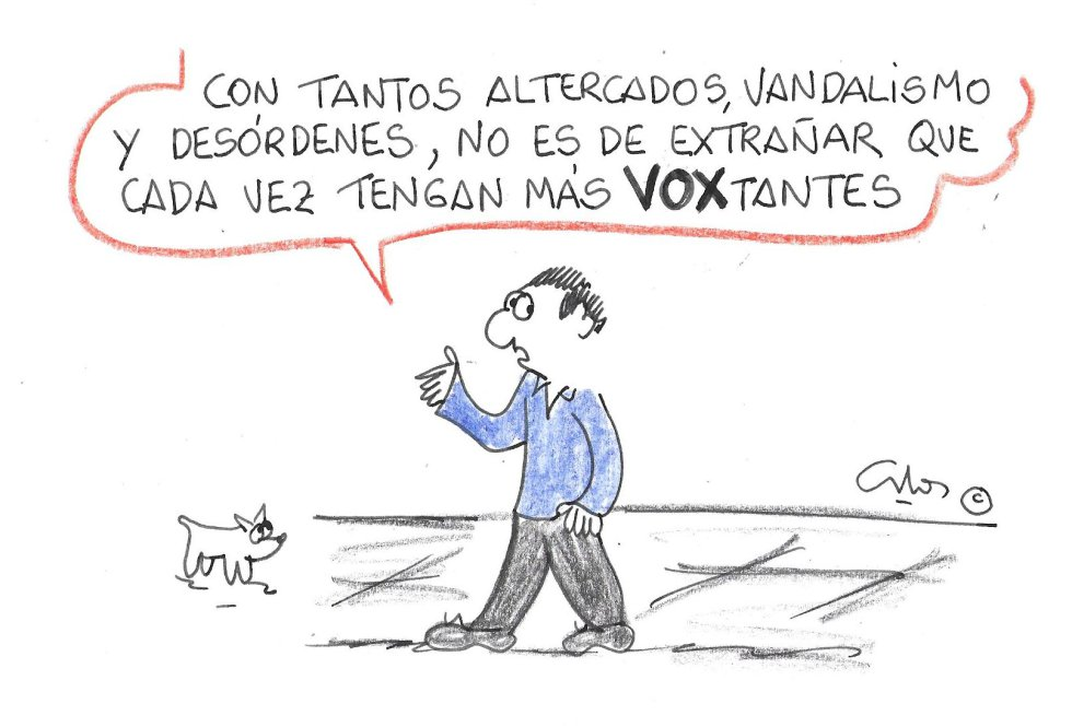 La viñeta de Villanueva, VOXtantes