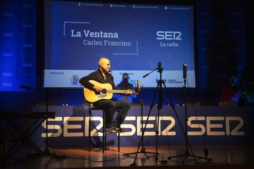 Los Marañones aportaron música en directo al programa