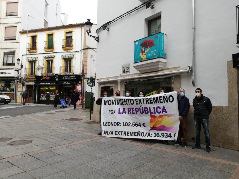 Protestas republicanas en San Pedro y Plaza Mayor