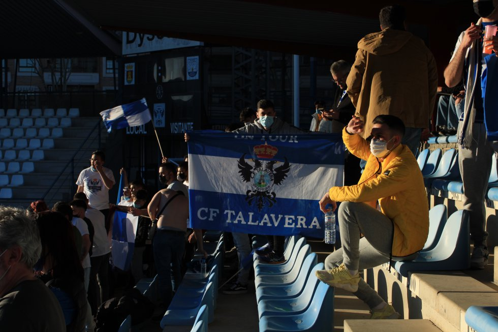 El Talavera en 1ª RFEF: así se ha vivido la celebración en el Prado