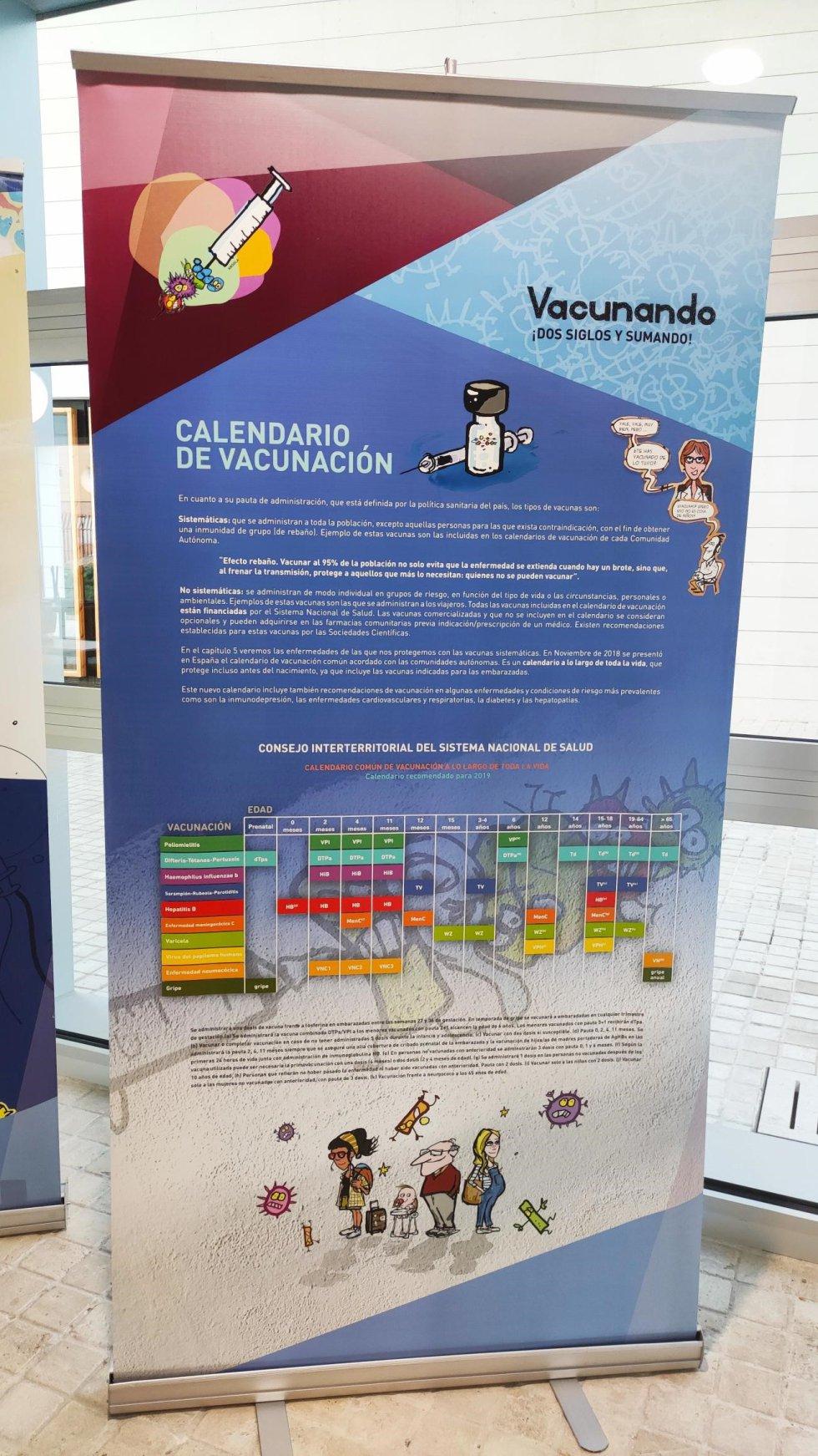 La exposición recaló hace unos días en el Instituto Cañada de la Encina de Iniesta, como una actividad comunitaria organizad por las médicas del equipo de Atención Primaria, María Flores y Ana Belén Espejo