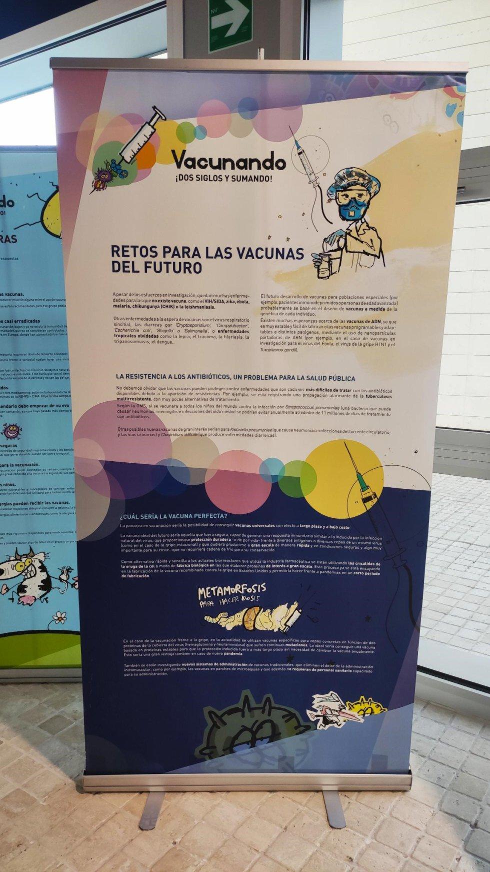 Después de la Facultad de Farmacia, la exposición se podrá ver en la Cueva del Pernales, en la plaza mayor de Alcaraz