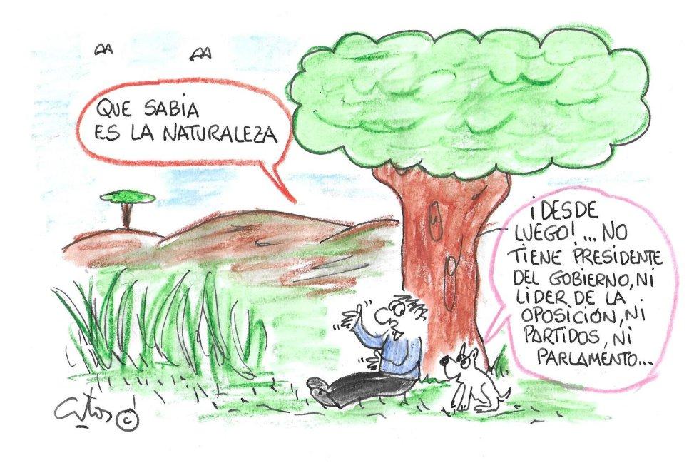 La viñeta de Villanueva, naturaleza sabia