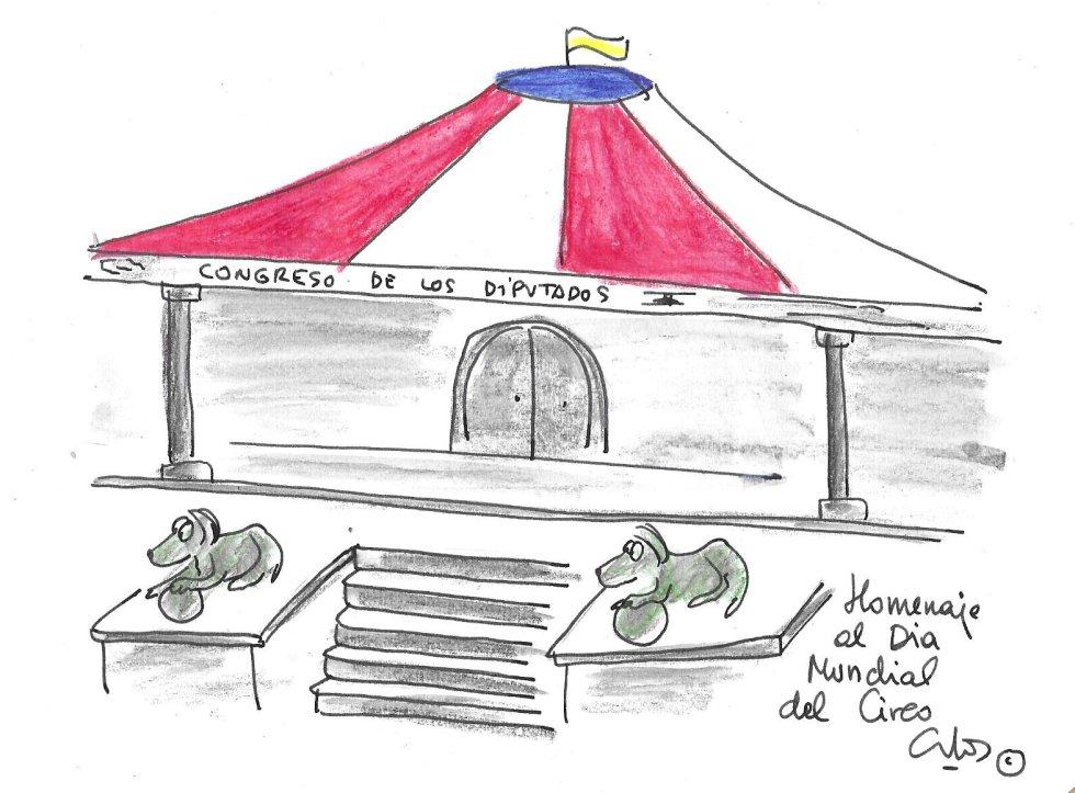 La viñeta de Villanueva, Día del Circo
