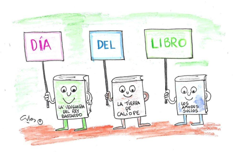 La viñeta de Villanueva, Día del Libro