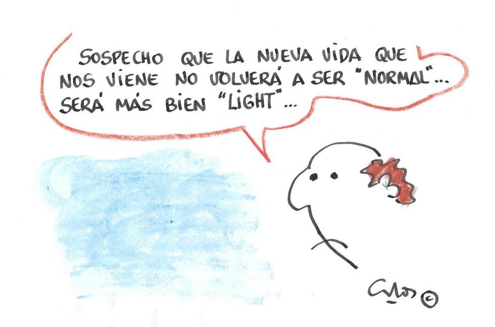 La viñeta de Villanueva, vida light