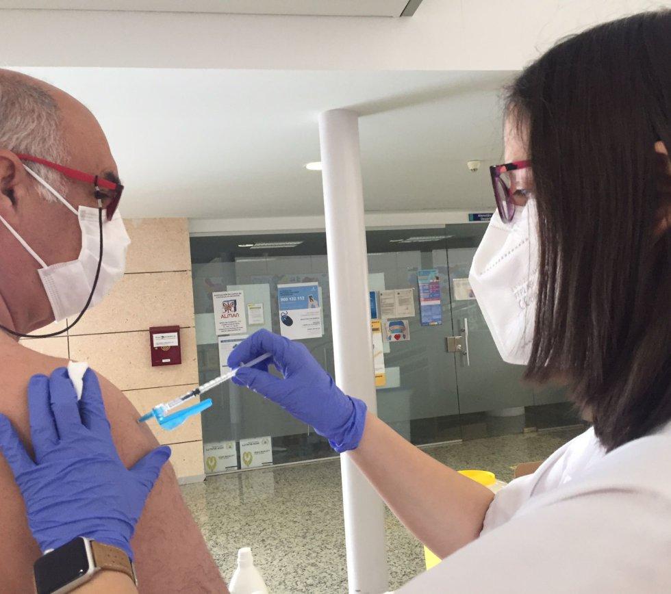 A toda marcha la vacunación en la Gerencia de Tomelloso