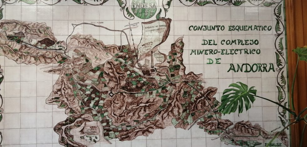 Mapa cerámico