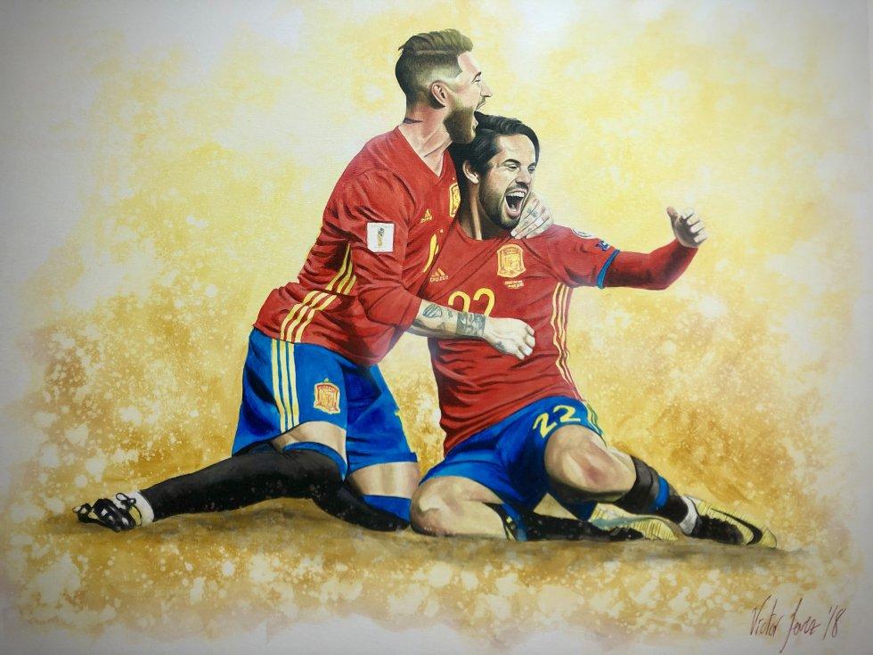 Momento selección Española