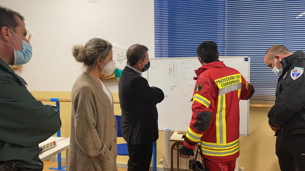 FOTOGALERÍA | El incendio de Seseña (Toledo) en imágenes