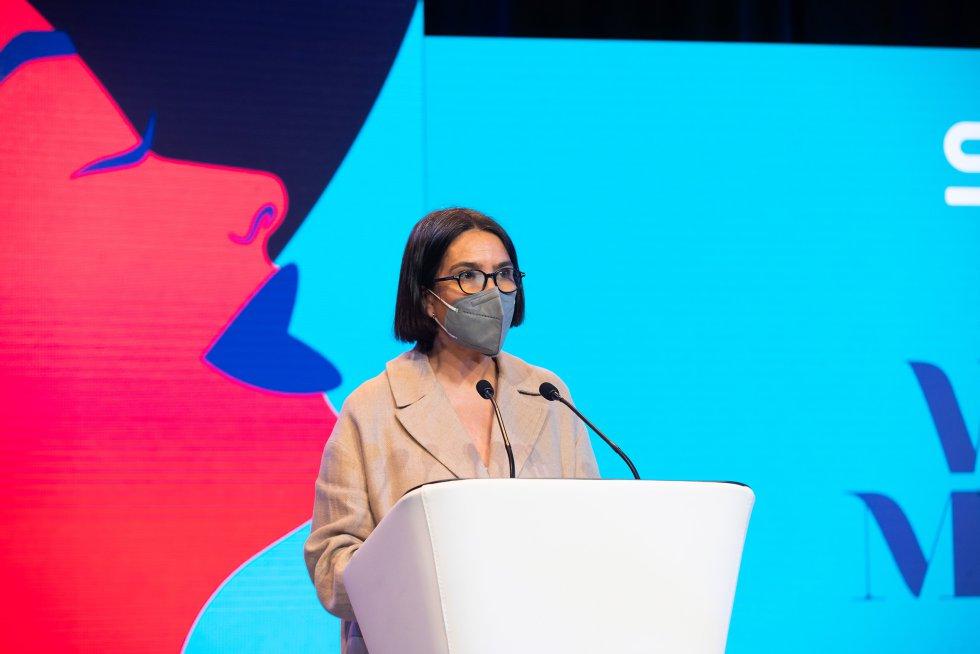 La teniente de alcalde de Santiago, Mercedes Rosón, ha inaugurado el foro.