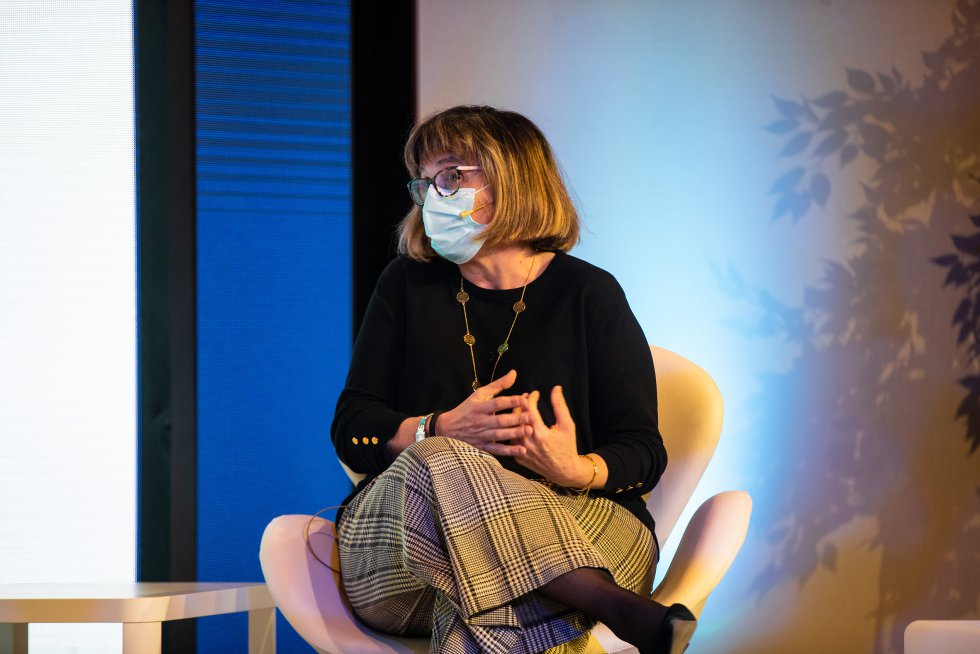Maica Bouza es secretaria de emprego e política social de CCOO.