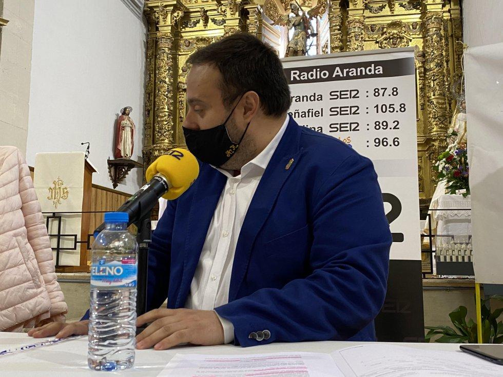 Alberto Rasero, alcalde de Villalba