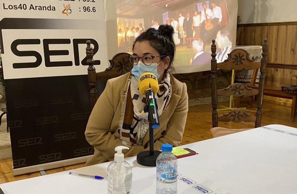 Sara Criado, presidenta de la AC de Villalba