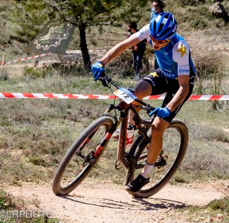 Biker durante la prueba