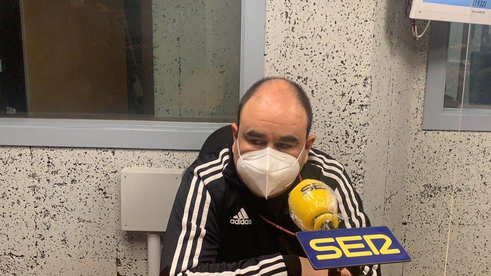 """Gonzalo Iglesias """"Morenín"""", entrenador de Envialia Ourense"""