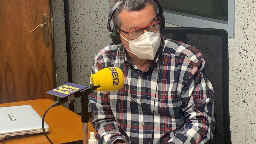 Pepe González, presentador de Ser Deportivos Ourense