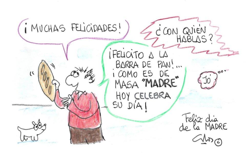 La viñeta de Villanueva, Día de la Madre