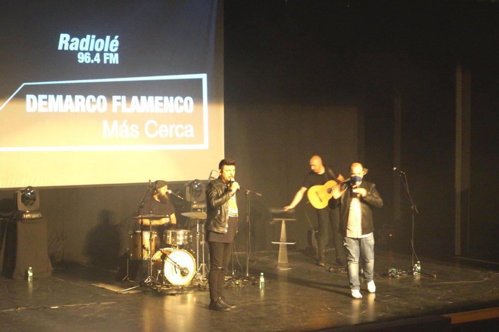 Las mejores imágenes del 'Más Cerca con Demarco Flamenco'
