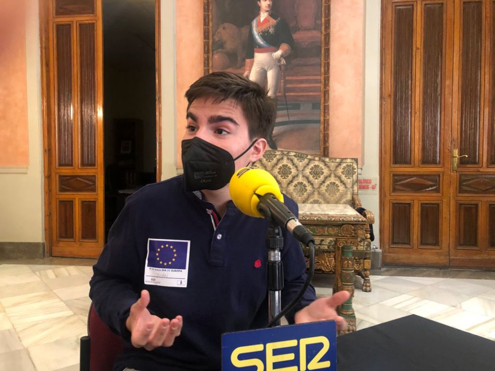 Julián Navarro, alumno del IES Amparo Sanz