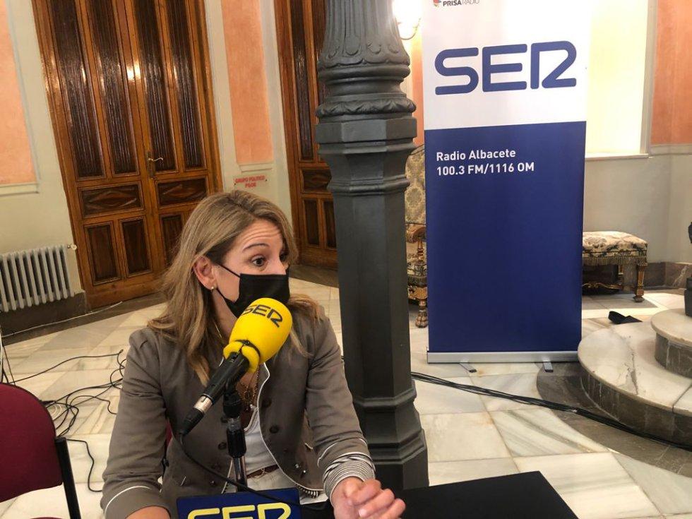 Sonia Zornoza, responsable de la Oficina Europe- Direct