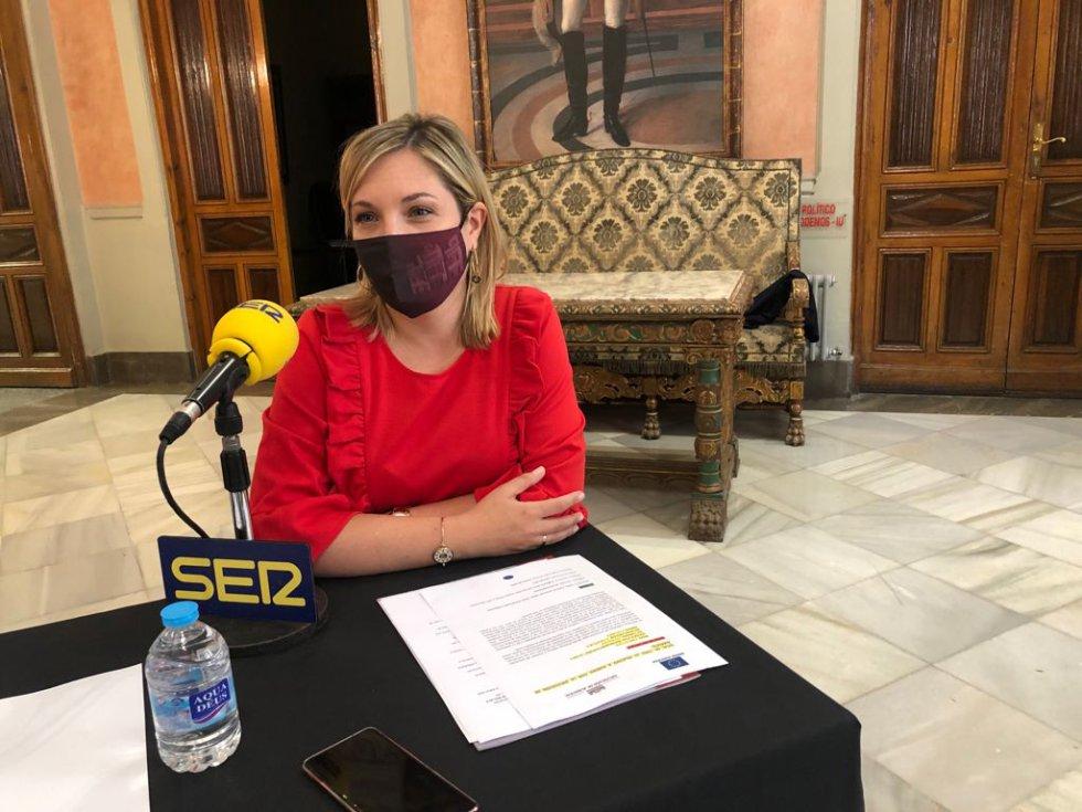 Amparo Torres, vicepresidenta de la Diputación de Albacete