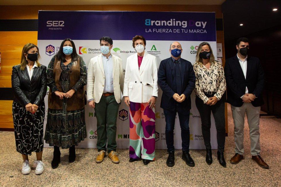 Las insitituciones cordobesas acuden al Branding Day Córdoba, en el salón de actos del rectorado de la UCO.