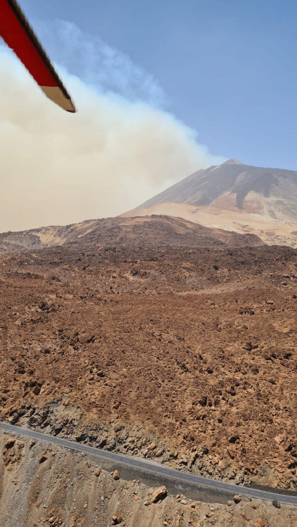 Incendio de Tenerife
