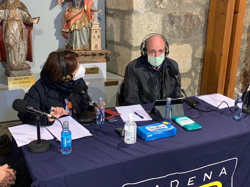 Marichu García y Ramón Castresana (Fundación Iberdrola)