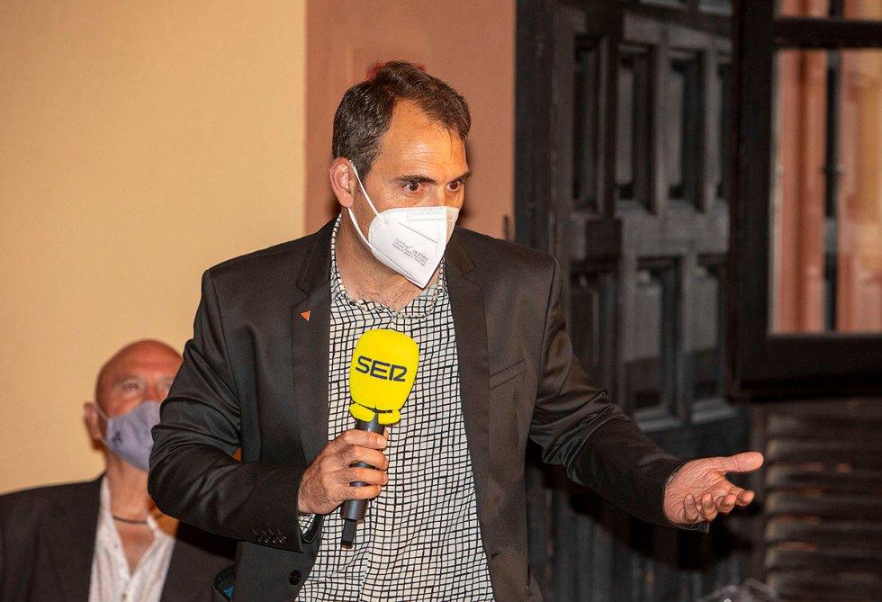 Toni Valero, coordinador general de Izquierda Unida Andalucía