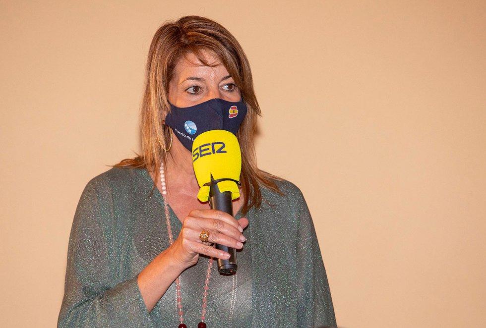Pilar Miranda, presidenta de la Autoridad Portuaria de Huelva