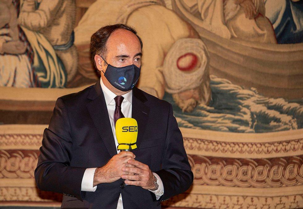 Gerardo Landaluce, presidente del Puerto de Algeciras