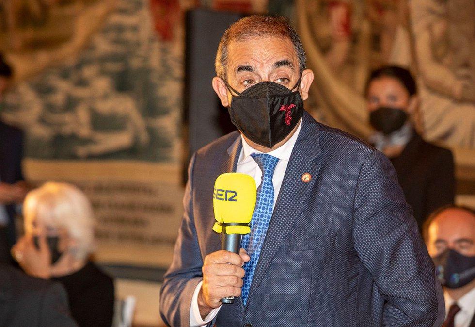 Miguel Ángel Castro, rector de la Universidad de Sevilla