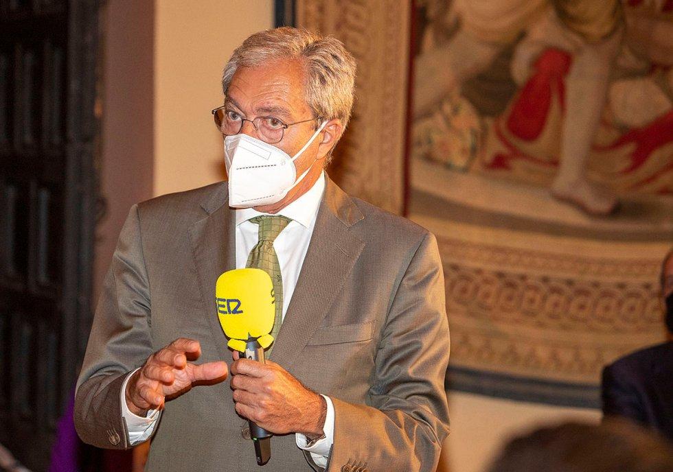 Rogelio Velasco, consejero de Economía, Conocimiento, Empresas y Universidad