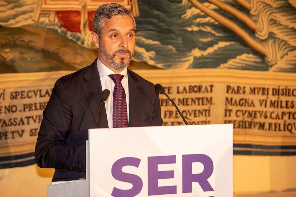 Juan Bravo, consejero de Hacienda y Financiación Europea de la Juanta de Andalucía