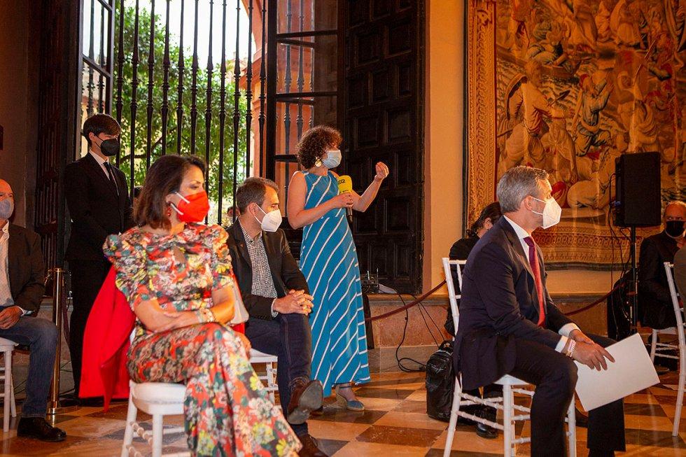 Los protagonistas de estas dos últimas temporadas de SER Andaluces, compartieron alguas reflexiones con los asistentes