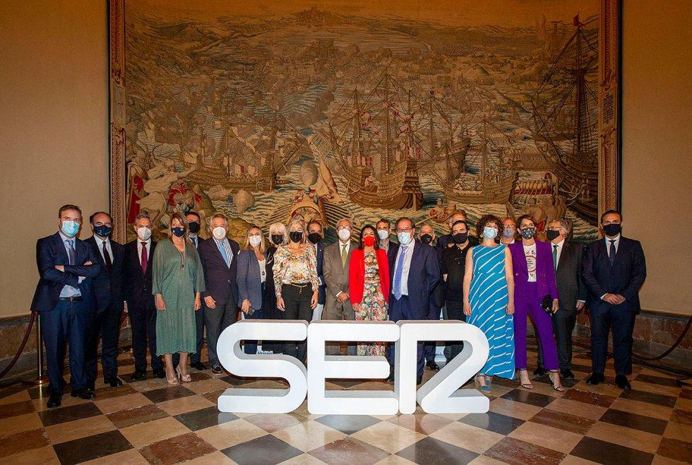 Algunos de los protagonistas de las dos últimas ediciones de SER Andaluces