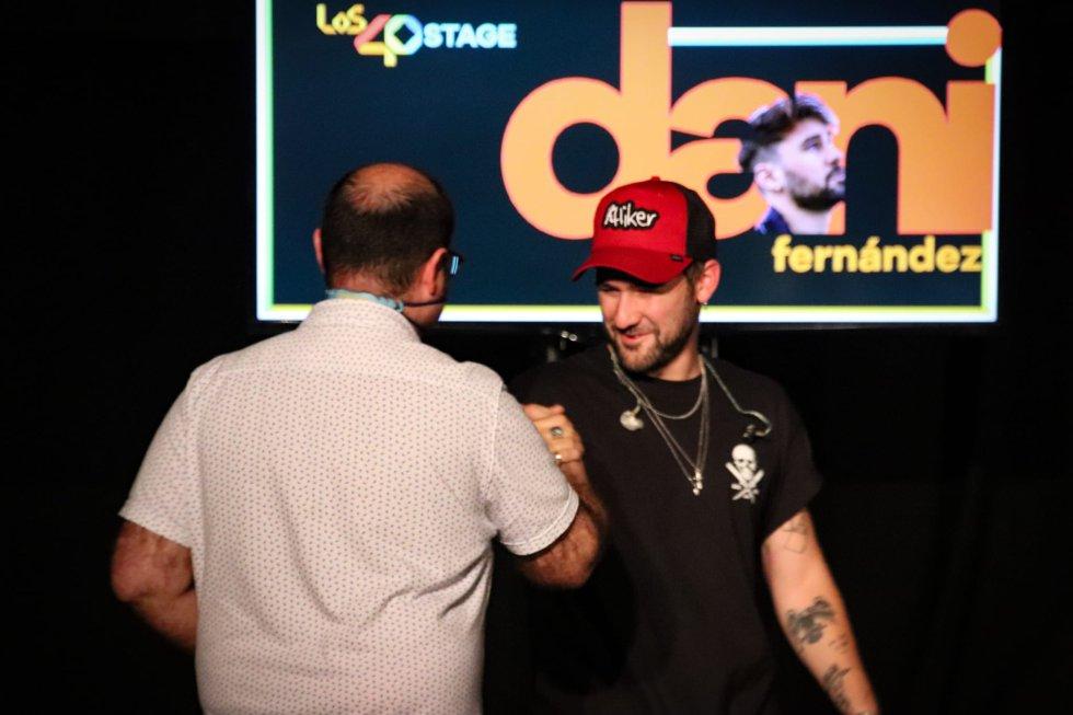 Las mejores imágenes del 'LOS40 Stage' con Dani Fernández en Toledo