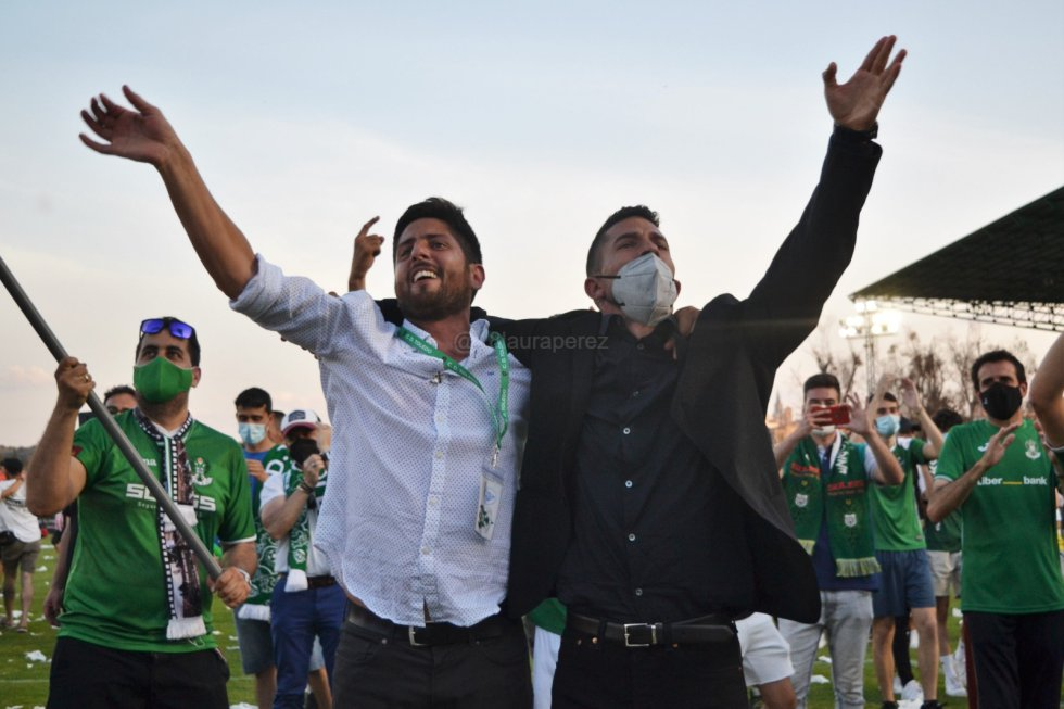 FOTOGALERÍA | Así fue la celebración del ascenso del Toledo