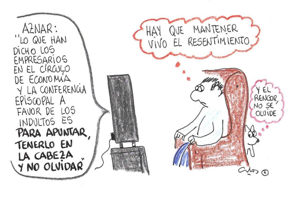 La viñeta de Villanueva, Aznar