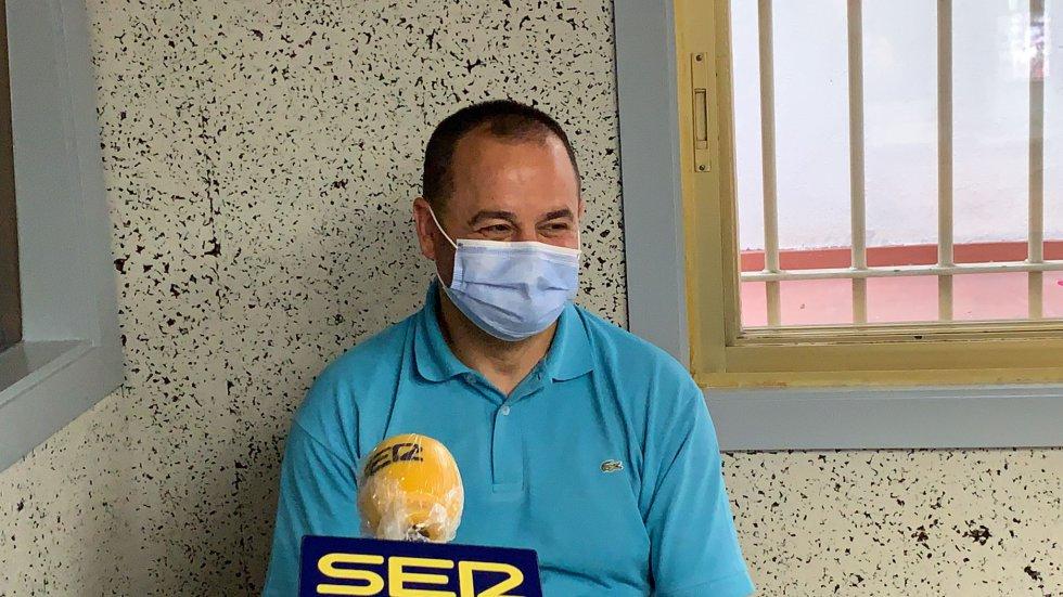 Marquitos, entrenador y coordinador del Pabellón Ourense