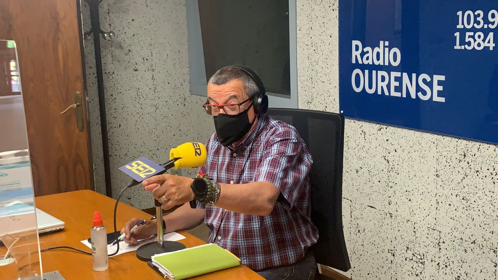 Pepe Gonzalez, presentador de Ser Deportivos Ourense