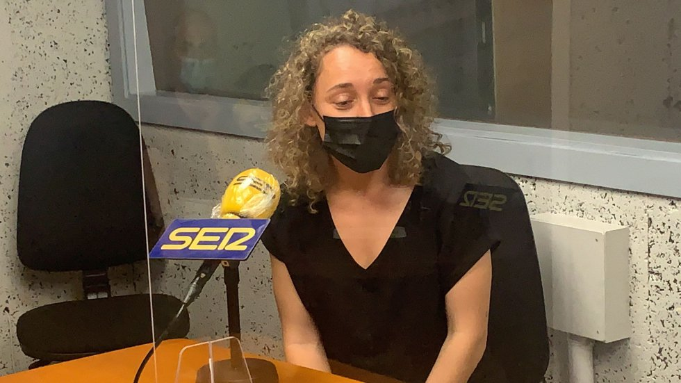 Andrea Feijóo, jugadora de Enviália Ourense