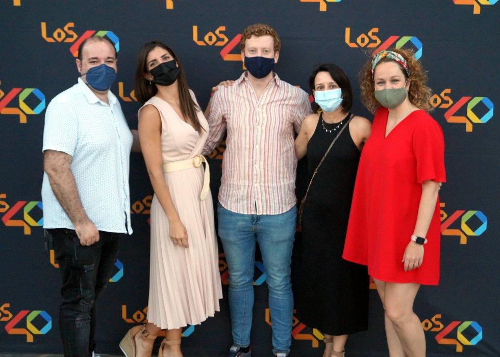Nil Moliner triunfa con 'Los40 Stage' en el auditorio La Granja de Ciudad Real