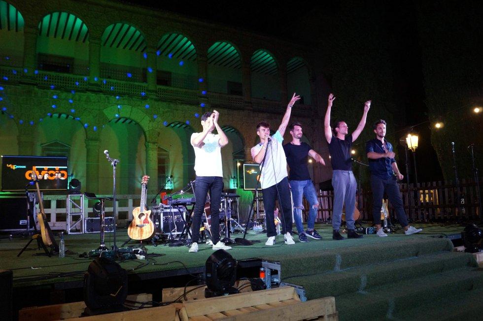 Las mejores imágenes del 'LOS40 Stage' con Dvicio en Guadalajara