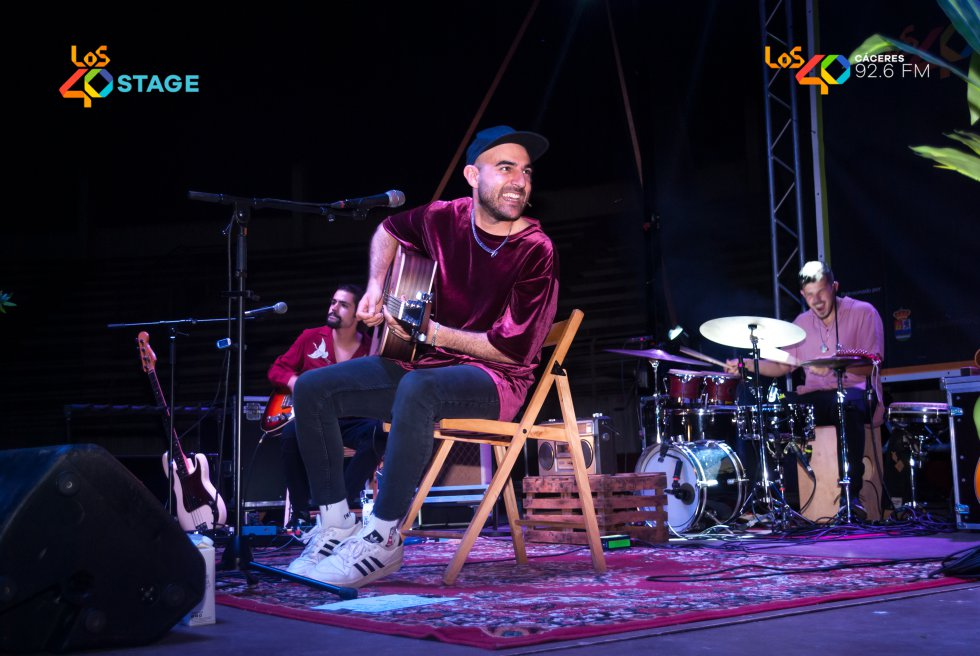 Complicidad entre Nil Moliner y sus músicos