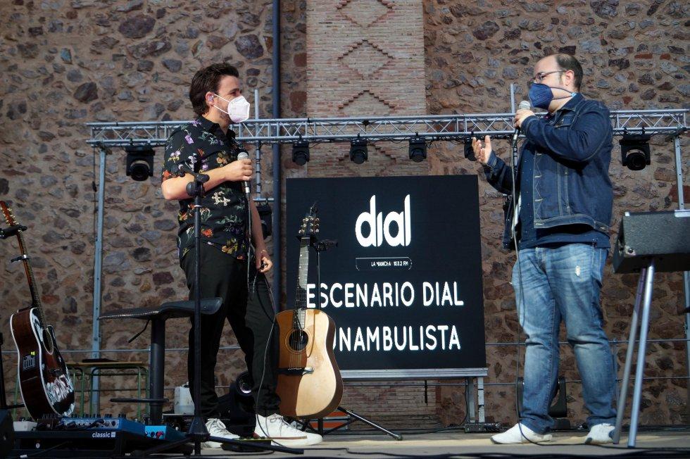 Las mejores imágenes del 'Escenario Dial' con Funambulista en Herencia